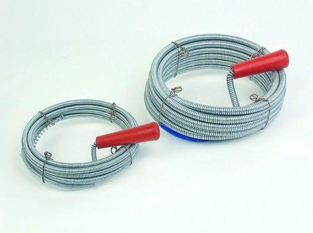 Jeklena vrv za kanalizacijo v PVC foliji, 10 m, fi 9 mm
