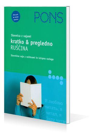 PONS Slovnica z vajami kratko & pregledno - Ruščina, Jutta Schmidt (broširana, 2008)