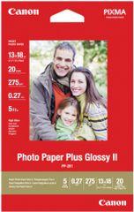 Canon foto papir PP-201 13x18 cm, 260g/m2, 20 kos