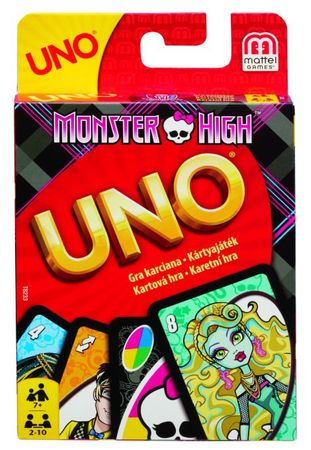 Mattel KARTE UNO Monster High, T8233