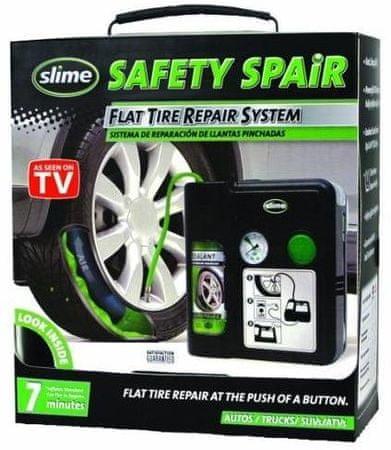 Slime Set za popravilo predrtih pnevmatik Safety Spair