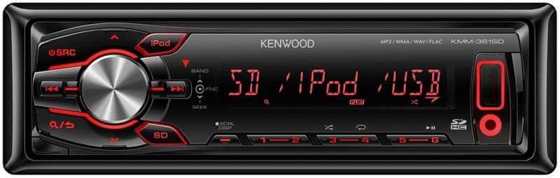 Kenwood Electronics KMM-361SD