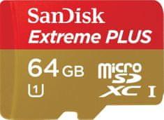 SanDisk karta pamięci Extreme PLUS microSDXC 64 GB (SDSDQX-064G-U46A)