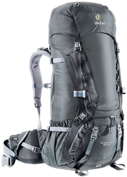 Deuter Aircontact 55 + 10 Granite/Black
