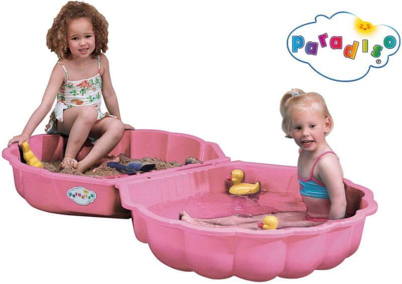 Paradiso Pískoviště/bazének mušle růžová