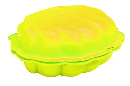 Paradiso peskovnik / bazenček školjka, rumen