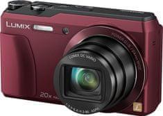 Panasonic Lumix DMC-TZ55EP Kit, červená - II. jakost
