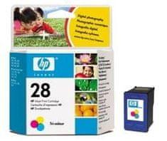 HP kartuša C8728AE, barvna, 8 ml #28