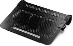Cooler Master stojalo z ventilatorjem za prenosnik NotePal U3 Plus (R9-NBC-U3PK-GP), črn