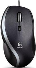 Logitech miš M500, srebrni  (910-003725)
