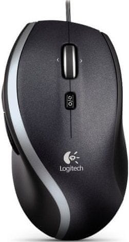 Logitech M500 Laser Mouse, černá (910-003725)