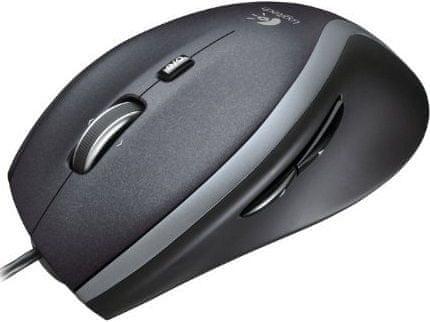 Logitech M500 Laser Mouse, černá (910-003726)