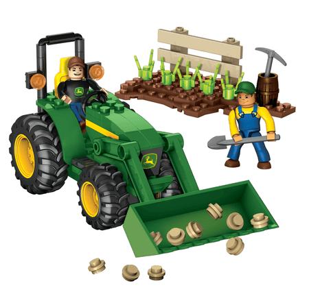 MEGA BLOKS John Deere traktor (80840U)