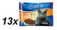 Akinu Caty kapsičky pre mačky v šťave Mix 13x (4 x 100g)