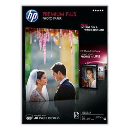 HP Foto papir Premium Plus Glossy Photo, 50 listov(CR674A)