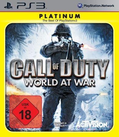 Activision Call of Duty: World at War Platinum (PS3)