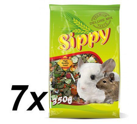 Akinu hrana za činčile Skippy deluxe, 7 x 350