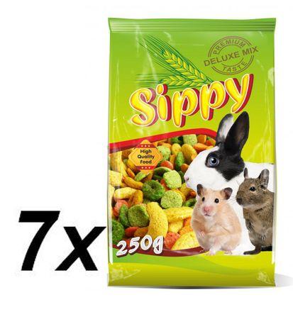 Akinu hrana za glodalce Skippy deluxe, 7 x 250 g
