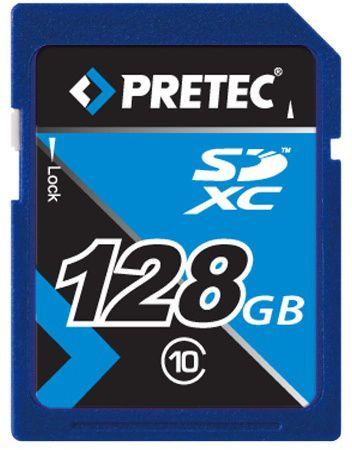 Pretec SDXC 128GB (class 10)