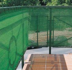 Windhager Zaščitna ograja, 5 x 1,5 m, zelena