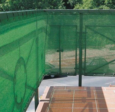 Windhager Zaščitna ograja, 5 x 0,8 m zelena