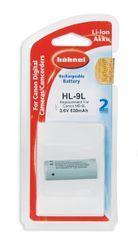 Hähnel baterija Li-Ion HL-9L 630 mAh, 1 kos