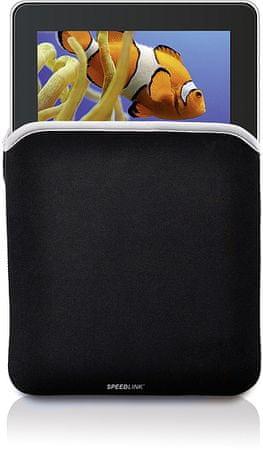 Speedlink torbica za tablični računalnik LEAF SL-7271-BKGR, 17,7 cm (7'')