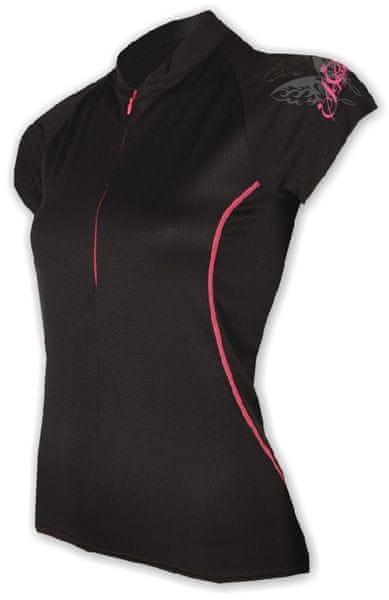 Sensor Dres Entry dámský krátký rukáv černá L