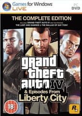 Rockstar Games Grand Theft Auto IV: Complete Edition (PC)