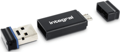Integral USB OTG stick s adaptorom + 16GB Fusion USB2.0