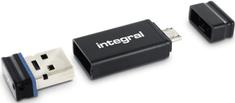 Integral USB OTG stick s adaptorom + 16GB Fusion USB2.0