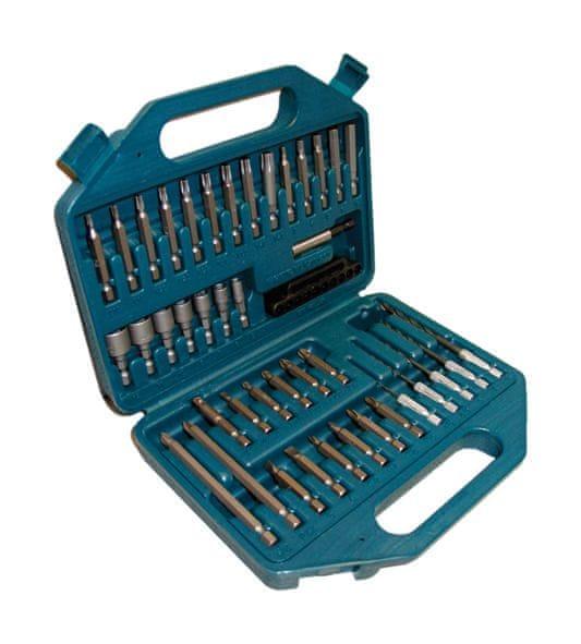 Makita 43 dílný set bitů a nástrčných klíčů (P-45272)