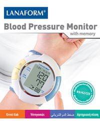 Lanaform zapestni merilec krvnega tlaka