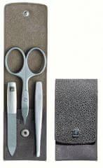 Zwilling Twinox manikúra Ray, šedá kůže, 3 ks