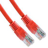 Mrežni kabel UTP patch 5m, rdeč