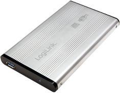 "LogiLink Zunanje aluminijasto ohišje za trdi disk 6,35 cm (2,5"") UA0106A SATA, srebrno"