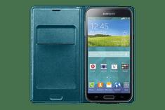SAMSUNG EF-WG900B Samsung Galaxy S5 Telefontok, Kék