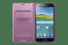 SAMSUNG EF-WG900B Samsung Galaxy S5 Telefontok, Lila