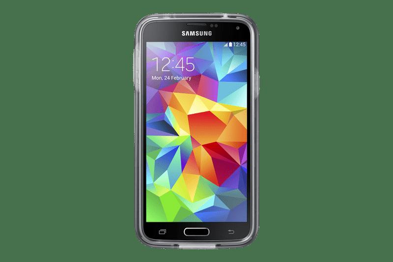 Samsung silikonový obal Galaxy S5, šedý