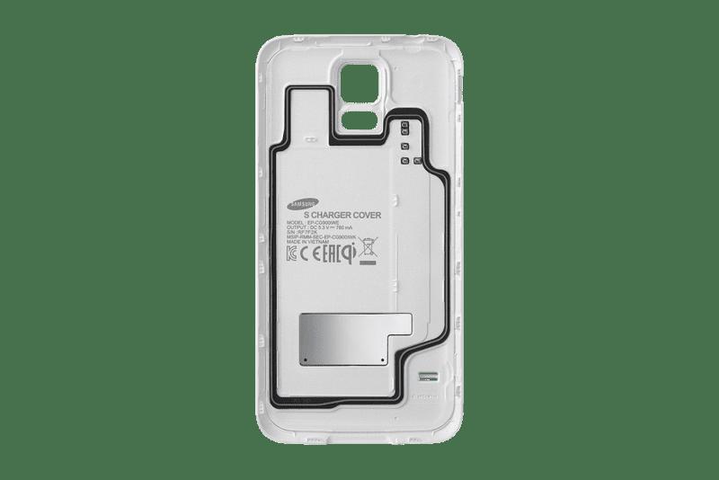 Samsung zadní kryt pro bezdrátové nabíjení Galaxy S5, bílý