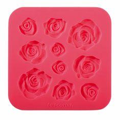 Tescoma DELÍCIA DECO szilikon rózsa forma, piros