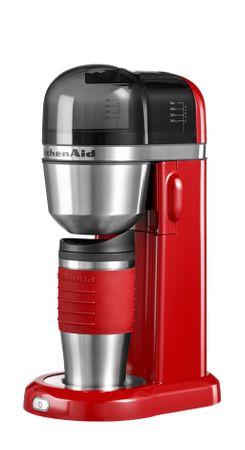 KitchenAid kavni aparat, rdeč