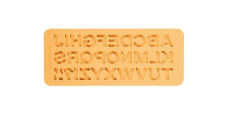 Tescoma Silikonové formičky DELÍCIA DECO,abeceda