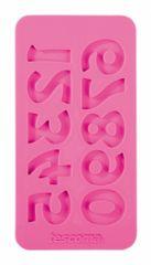 Tescoma silikonski kalup s številkami Delicia
