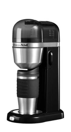 KitchenAid kavni aparat, črn
