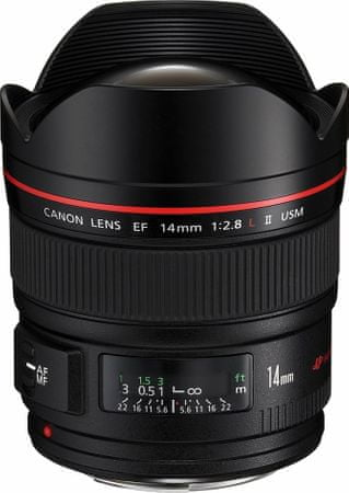 Canon objektiv EF 14mm f / 2.8L II USM