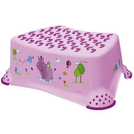 OKT bočna stopnica Hippo, roza