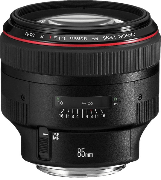 Canon EF 85mm f / 1.2 II L USM