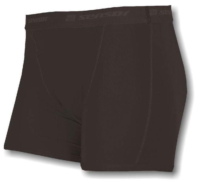 Sensor Coolmax Fresh dámské kalhotky s nohavičkou černá M