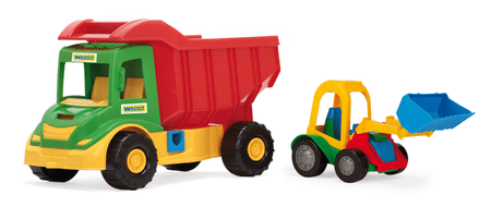 Wader Multi Truck ze spychaczem buggy 32210